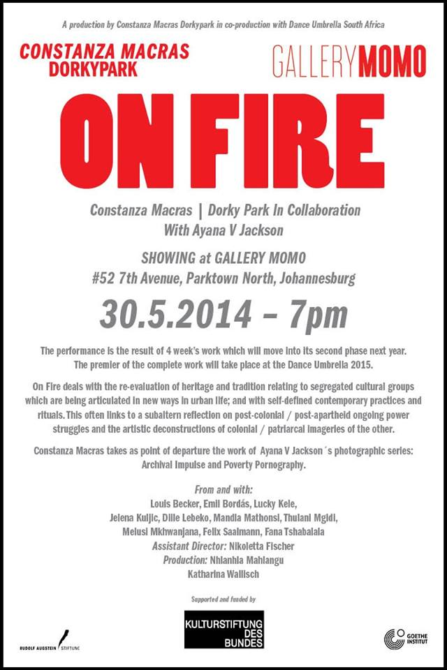 onfire-showing-johannesburg